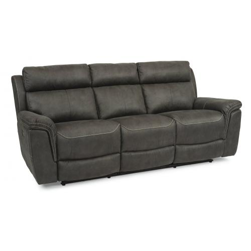 Rhett Power Reclining Sofa with Power Headrests