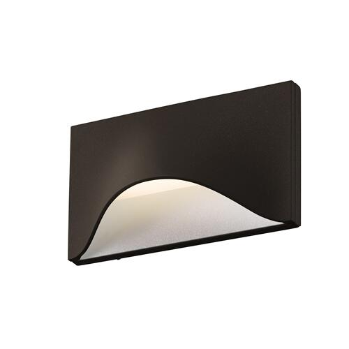 Sonneman - A Way of Light - Tides Low LED Sconce [Color/Finish=Textured Bronze]