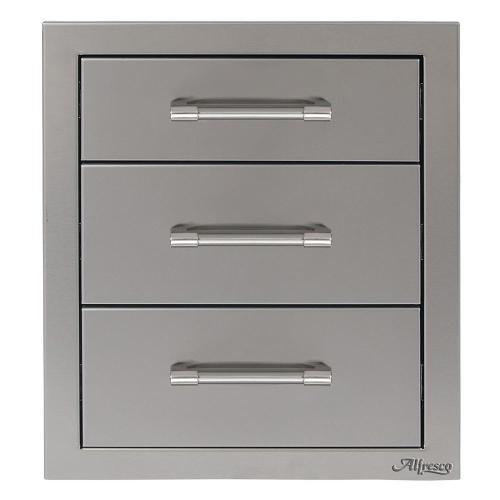 "Alfresco - 17"" Three Tier Storage Drawers"