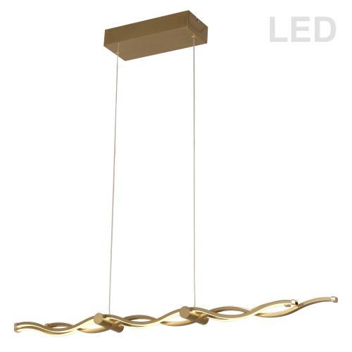 46w LED Horizontal Pendant, Agb