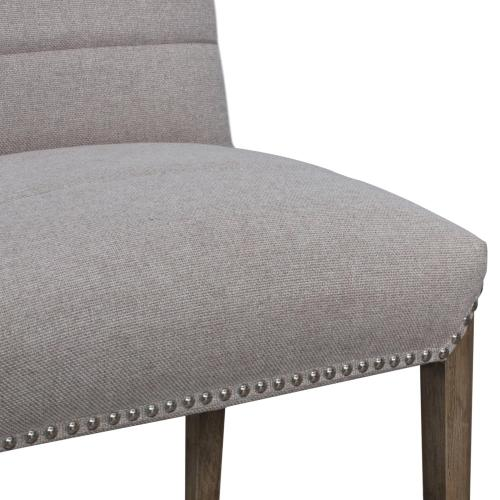 Product Image - Alfred Fabric Dining Side Chair Natural Drift Legs, Havana Linen