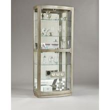 Glass Door Curio