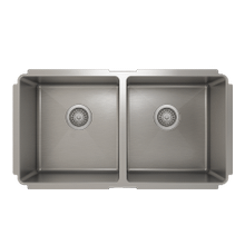 ProInox H75 50/50 Double Bowl undermount Kitchen Sink ProInox H75 18-gauge Stainless Steel, 30'' X 16'' X 10'' ** 1 x available**