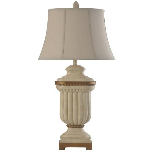 L315781  Summerhill Cream  Traditional Table Lamp  150W  3-Way  Softback Bell Shade