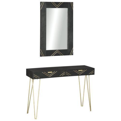 - Coramont Sofa Table w/ Mirror