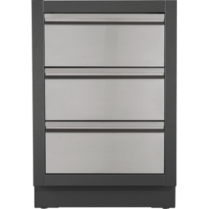 Napoleon GrillsOASIS Three Drawer Cabinet , Grey