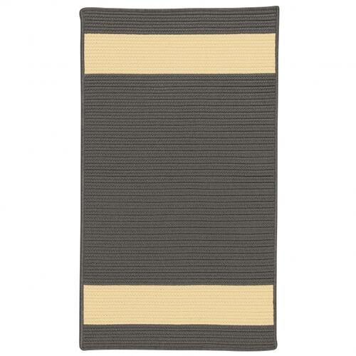 Aurora Rug AR45 Grey Yellow 3' X 5'