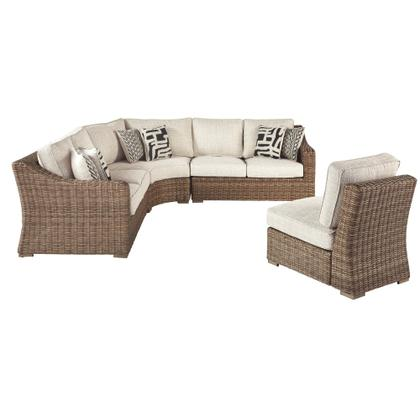 See Details - Beachcroft 4-piece Outdoor Seating Set
