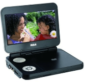 "Portable DVD Player with 8"" Screen"
