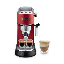 See Details - Dedica Manual Espresso Machine - Red - EC680R