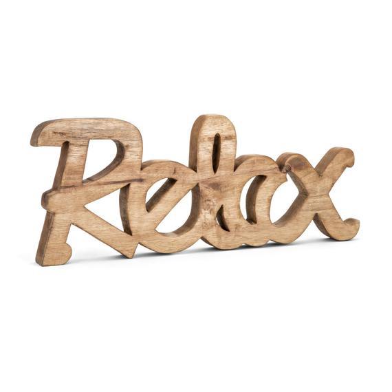 Relax Mango Wood Decor