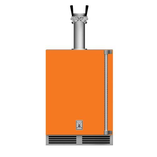 """24"""" Hestan Outdoor Double Faucet Beer Dispenser - GFDS Series - Citra"""