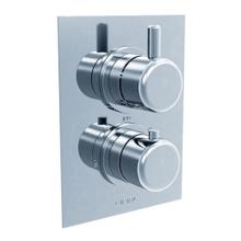 Techno 35 - Thermostatic Control Valve Trim - Polished Chrome