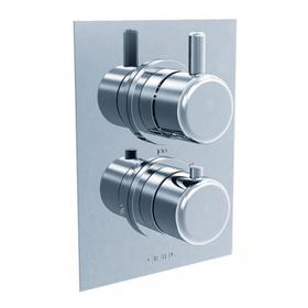 Techno 35 - Thermostatic Control Valve Trim - Brushed Nickel
