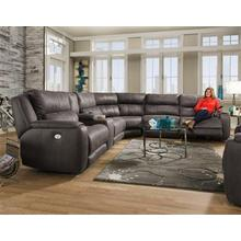 Power Headrest Reclining Sectional