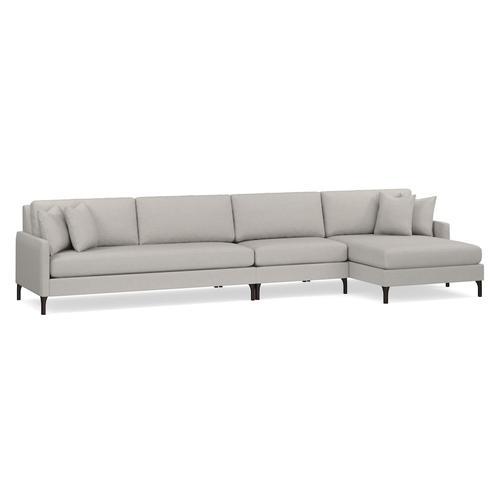 Bassett Furniture - Serafina 3 Piece Right Chaise Sectional