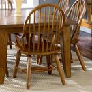 Bow Back Arm Chair - Oak Product Image