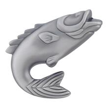 View Product - Fish Knob 2 1/4 Inch - Pewter