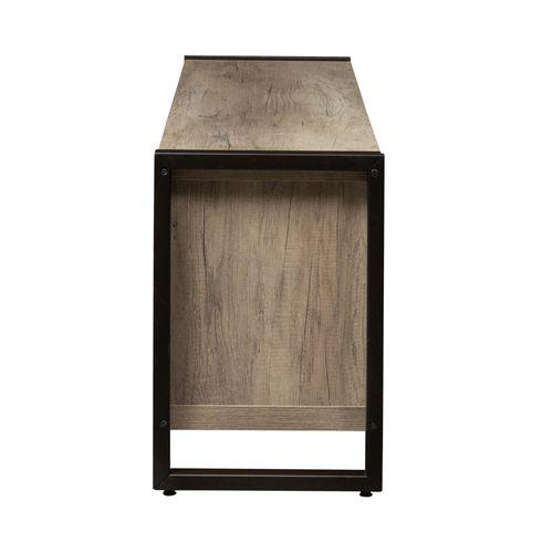 Liberty Furniture Industries - 64 Inch TV Console w/ Faux Metal