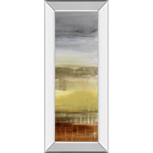"""Classy Art - """"Summer Rain I"""" By Lanie Loreth Mirror Framed Print Wall Art"""