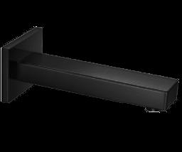 SQU Wall Mount Tub Filler Black Product Image