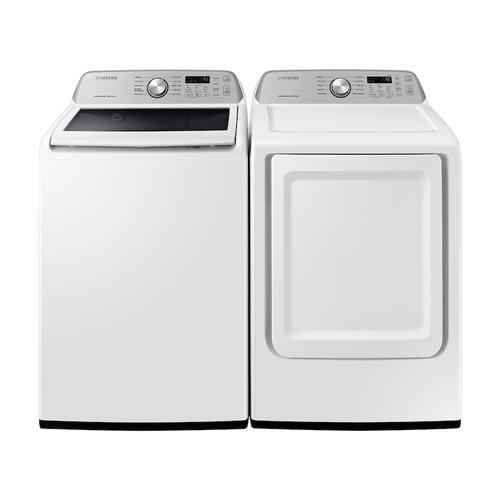 4.4 cu. ft. Top Load Washer with ActiveWave™ Agitator and Active WaterJet in White