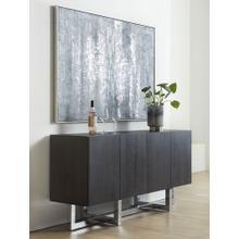 See Details - Amalfi Sideboard-Wood & Chrome