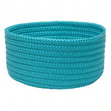 """Simply Home Basket H049 Turquoise 14"""" X 10"""""""