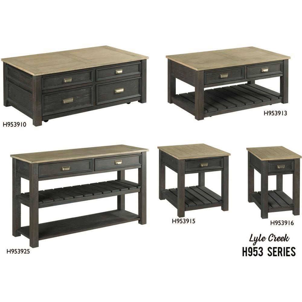 H953 Lyle Creek Tables