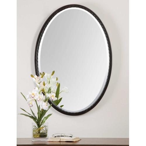 Uttermost - Casalina Oil Rubbed Bronze Oval Mirror