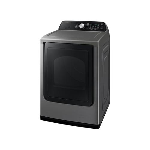 7.4 cu. ft. Gas Dryer with Sensor Dry in Platinum