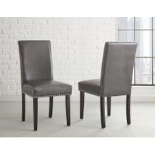 Verano Gray Side Chairs