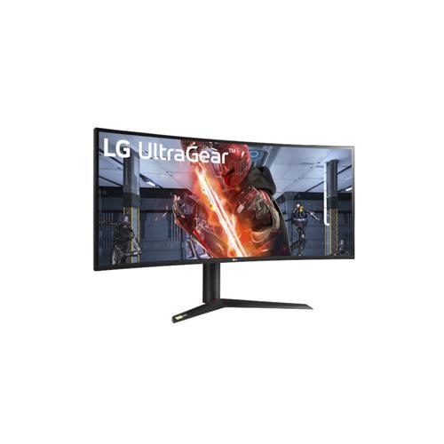 "38"" UltraGear™ 21:9 Curved WQHD+ Nano IPS 1ms 144Hz HDR 400 Sphere Lighting 2.0 3-Side Virtually Borderless"