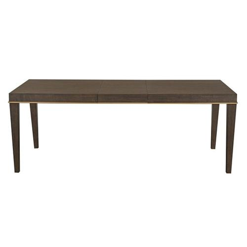 Standard Furniture - Nathan Dining Table with 18 inch Leaf, Brown