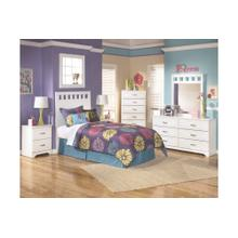 B102 Twin Panel Headboard, Dresser, Mirror (Lulu)