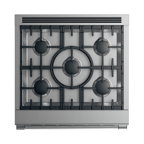 "Gas Range, 30"", 5 Burners, LPG"