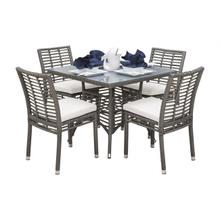 Graphite 5 PC Dining Side Chair Set