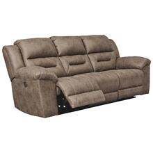 Stoneland Fossil Reclining Power Sofa