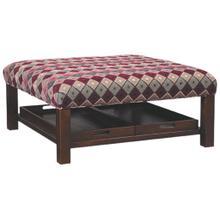 See Details - Hickorycraft Ottoman (024600)