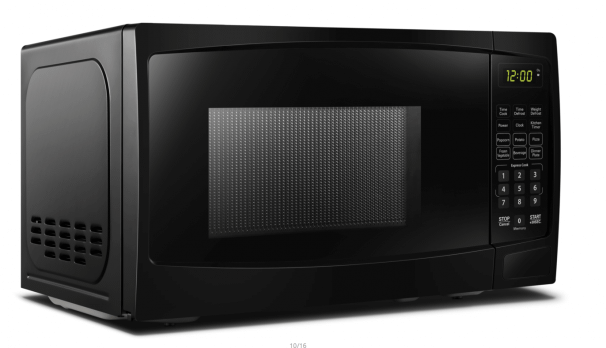 DanbyDanby 1.1 Cu Ft. Black Microwave With Convenience Cooking Controls