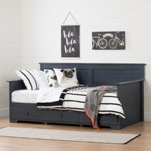 Summer Breeze - Daybed with Storage, Blueberry, Twin