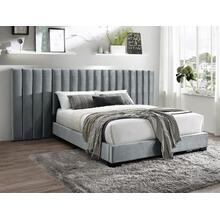 Jardin Wall Bed King Hb+wing Grey
