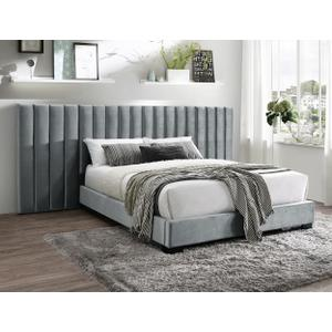 Jardin Wall Bed Queen Hb+wing Grey