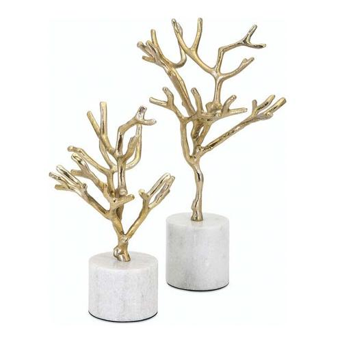 A & B Home - Trees on Marble Base