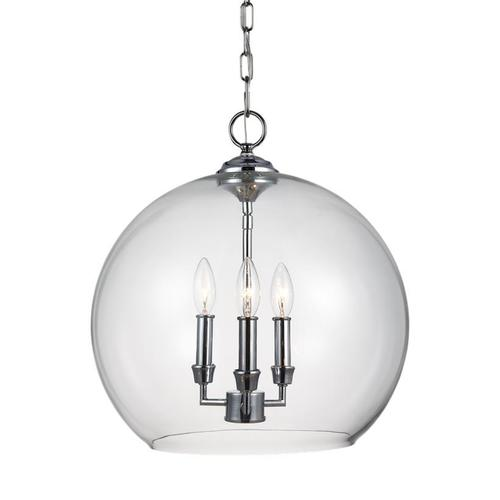 Lawler Orb Pendant Chrome