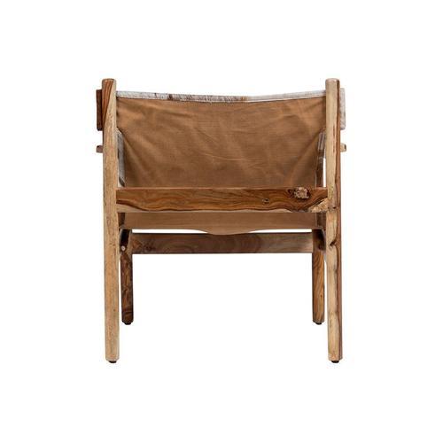 Genoa Cowhide Sling Chair, SLGC30