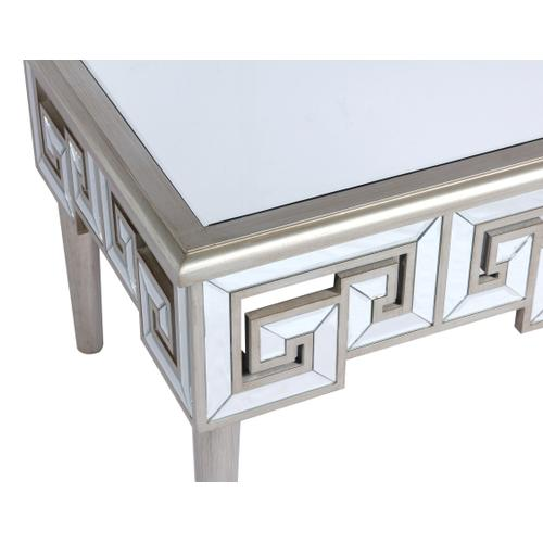 Heritage Square End Table, Mirror T425-01