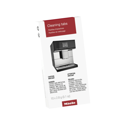 GP CL CX 0102 T - Cleaning tablets, 10 tabs For coffee machines, guarantees the highest level of coffee enjoyment