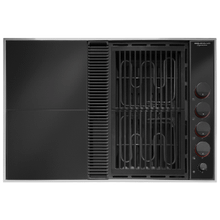 """See Details - Expressions™ Collection Modular Electric Downdraft Cooktop, 31"""""""