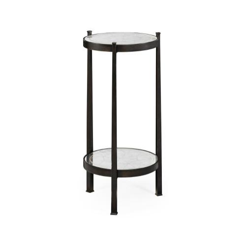 glomise & Bronze Iron Wine Table